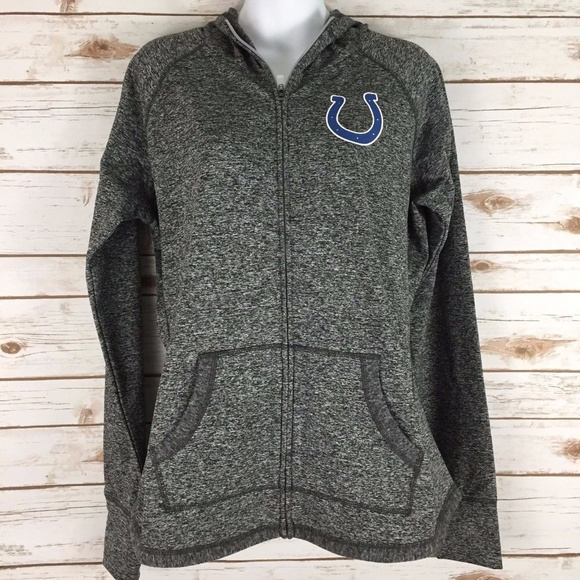 Indianapolis Colts Heather Gray Sweatshirt Hoodie 3e7ad3d40